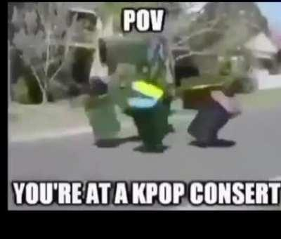 Pov: you're at BTS Concert