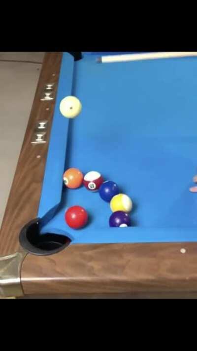 Pool trick shots