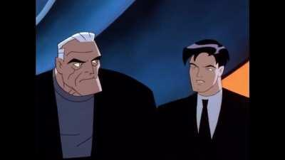 My favorite scene from Batman Beyond. This is beyond chilling.