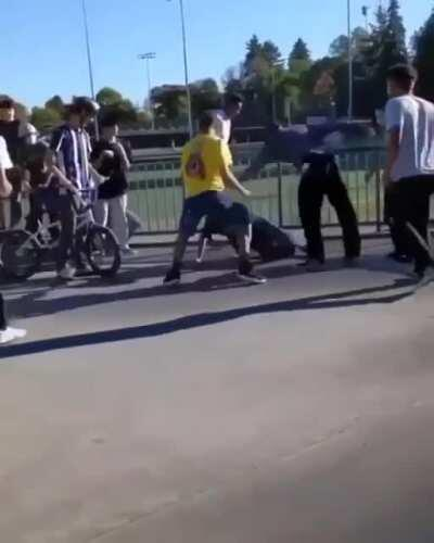 HMFT after I pick on someone who has lots of friends