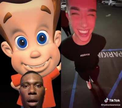 At least Jimmy had the neutron style