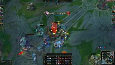 Ever seen a single herald take 5 turrets, 1 inhib and 1 nexus in a single go?
