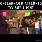 To buy a pint