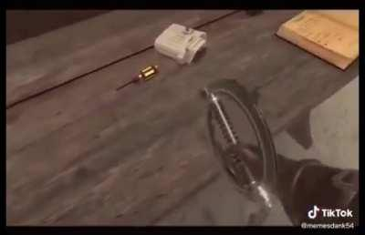 Always be careful around sharp objects