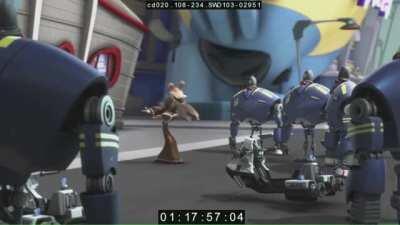 A full episode of Star Wars: Detours has leaked; entitled