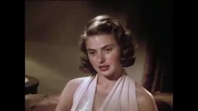 Ingrid Bergman: Screen Test for 'Intermezzo'; May 15, 1939