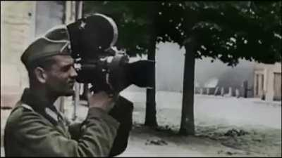 Axis and Allied war correspondents during service.