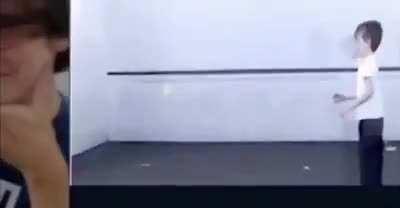 tennis ball, throw it against the wall