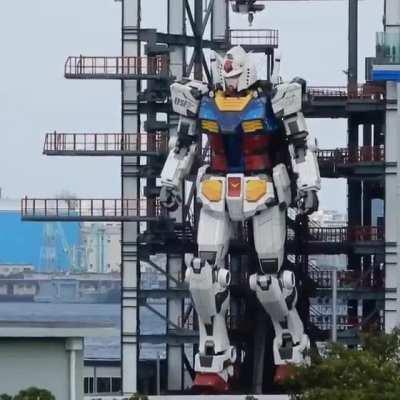 Moving Gundam