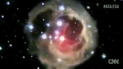 Exploding Star. 4 years in 15 seconds.