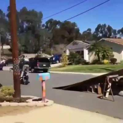 WCGW - stupidity at its best.