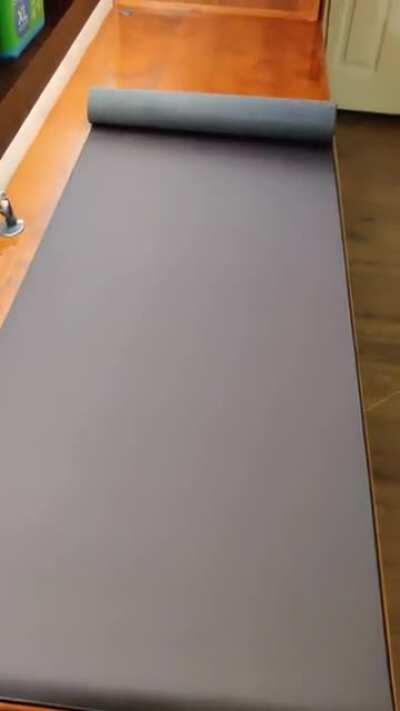 I don't need a mouse pad, I need mouse landing strip.