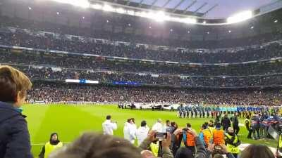 I miss this atmosphere so much. (Real Madrid vs. Juventus CL QuarterFinal 11.4.2018)