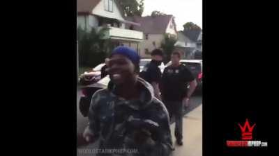 When you own guns legally, and the cops have to give them back.