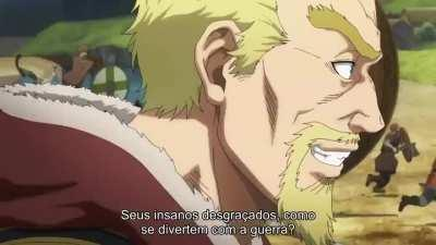 hoje eu vim recomendar o anime vinland saga, e um anime de vikings bem legal,bem violento e com lutas legais. ele tem na amazon prime e se vc assistir esse anime com intenção de punheta saiba que vc vai ter que aprender a bater pra macho