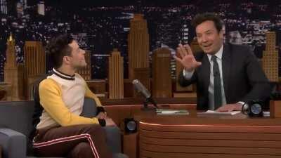 never touch jimmy fallon's hand