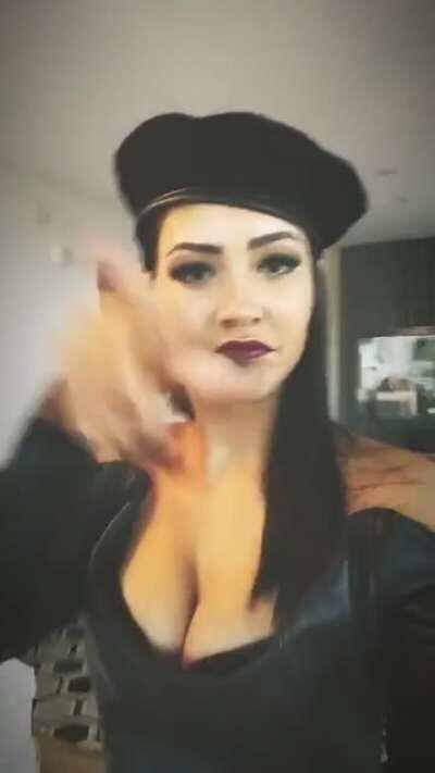 Tristin Mays - Black Beret (taken from IG stories)