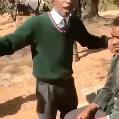 School kid freestyle - jhb South Africa