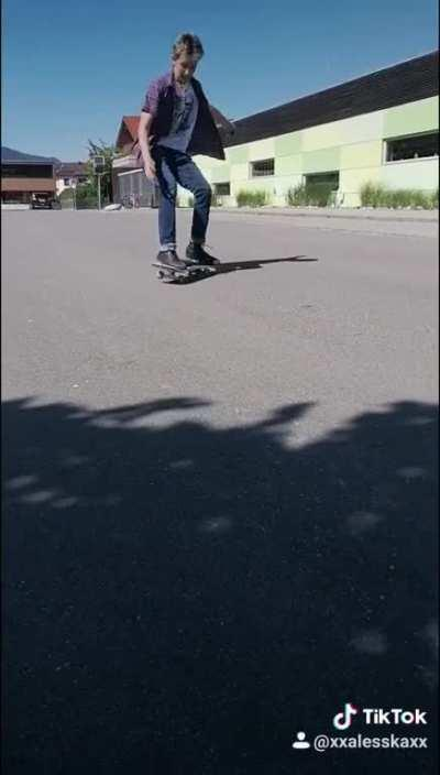 Skating is dangerous