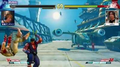 Still my favorite fight from Street Fighter. Worth a watch!