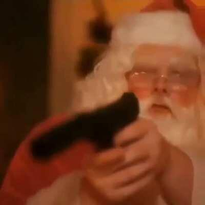 Blursed Santa