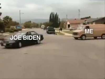 Good on the Joe Biden campaign for taking sexual assault awareness to a new level!