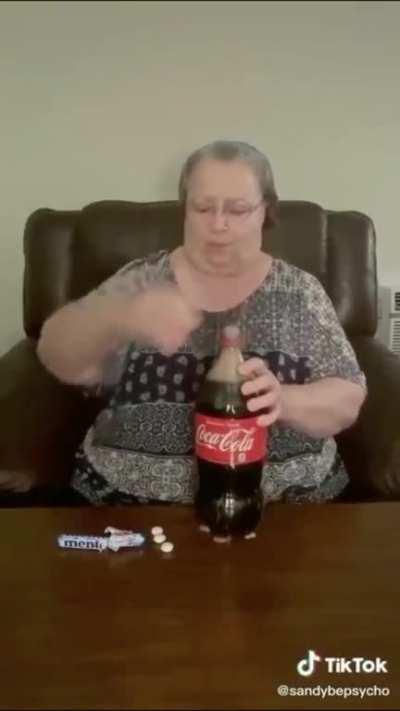 Poor grandma