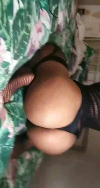 Wish I could do this on your cock (OC)