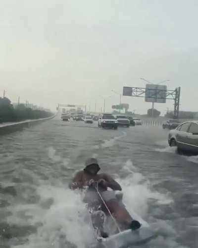 HMB while I get towed through the flooded freeway