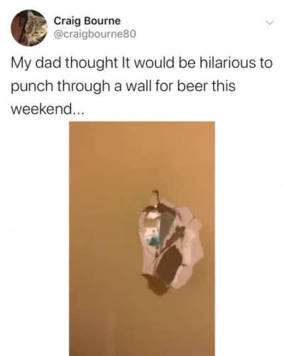 Give me that beer!