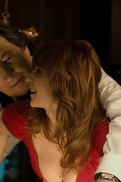 Men in Hope (2011) Vica Kerekes as Sarlota (billiards cleavage) part 1 [cropped, sharpen] 1080p