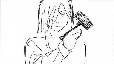 Denji and Power VS Kishibe animation done by @Hone_honeHONE