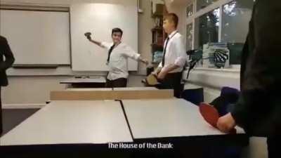 Pranking a classmate