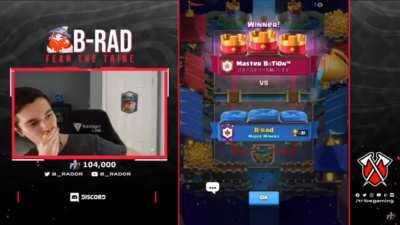 B-Rad Gets Clone Barreled On Stream