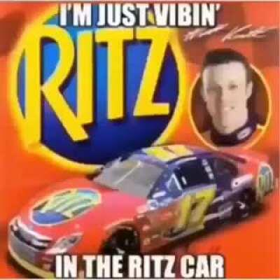 we vibin in the ritz car