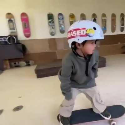 Learning Skateboard Tricks