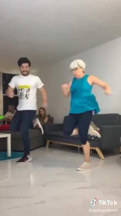 Evolution of Mum Dancing