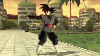 Goku Black after learning about Zenkai Boosts