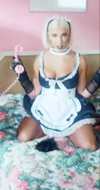Sexy maid tiktok