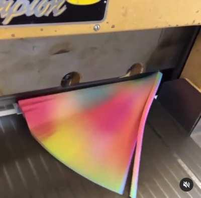 Colorful book trimming