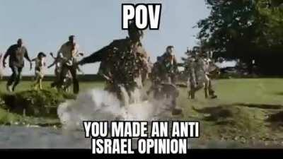 You can't escape the zionist circlejerk.