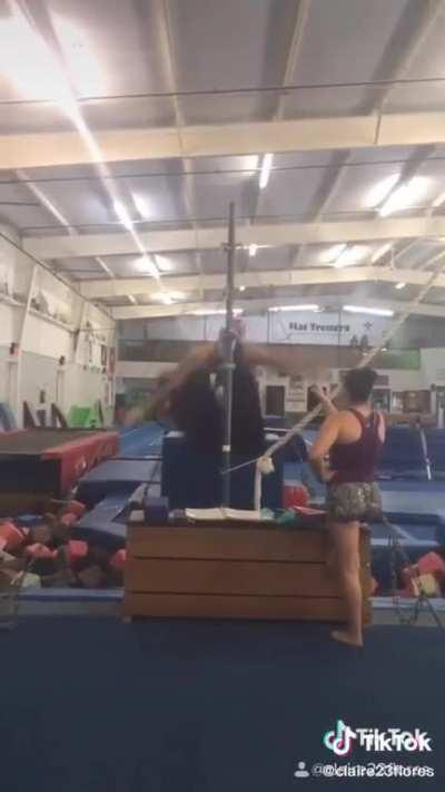 i guess i can cross gymnastics off my list of things to try
