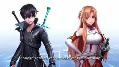 Kirito and Asuna enters to the world of Athanor!