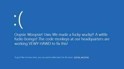 Oopsy Woopsy!