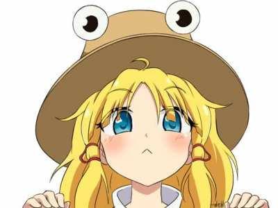 Cute Suwako being cute👀🐸