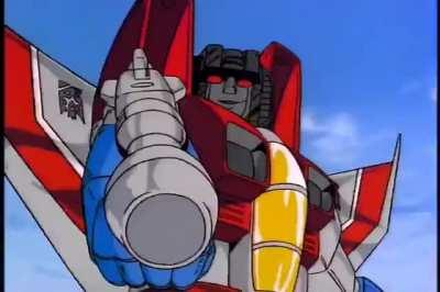 They don't call him Starscream for nothin.