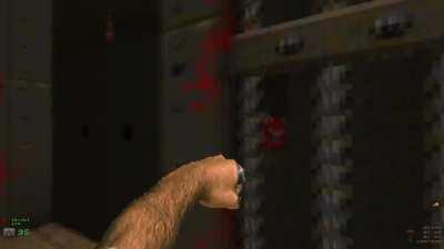 was playing some doom II then I saw these spinny bois