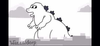 Godzilla in a nutshell