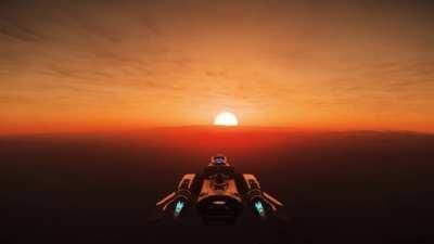 That how an Hurston sunrise sounds like