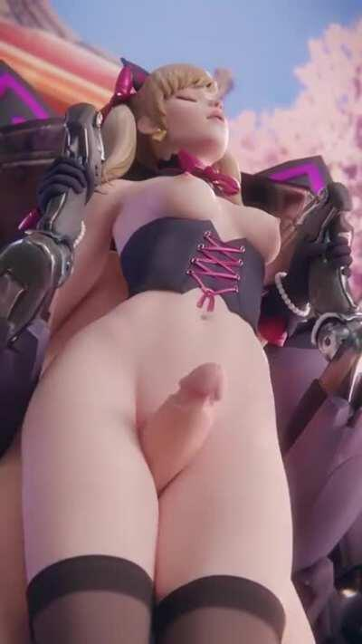 Another version of the D.Va thighjob